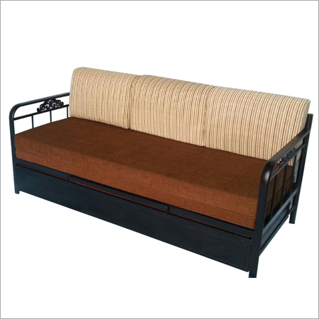 Scb 18 oliver metal furniture online store for Double bed diwan