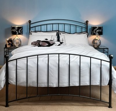 Metal double bed online
