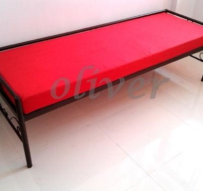 Diwan bed red colour