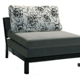 Single seater bed by Oliver Metal Furniture