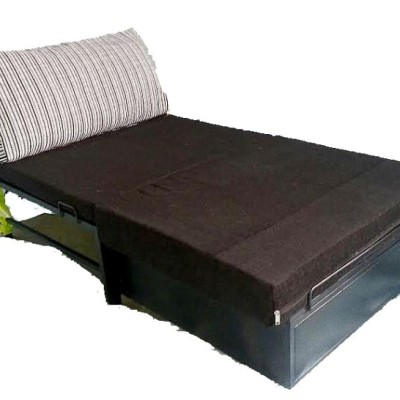 Single seater storage bed