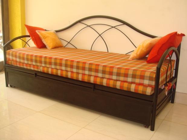 Scb 2 oliver metal furniture online store for Sofa bed 5ft