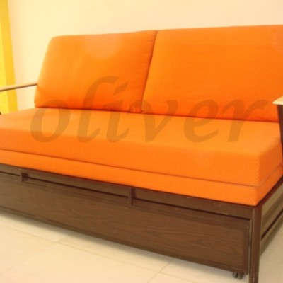 Sofa cum bed with mattress