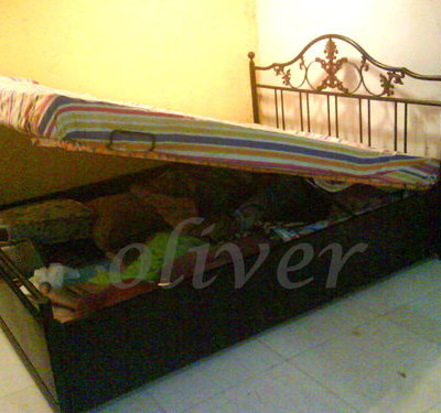 Storage Bed OB3 Lift Up